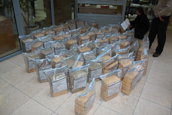 Klaipėdos uoste - pusė tonos kokaino už šimtus milijonų litų