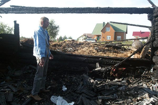 Žmogaus gyvybę nusinešęs gaisras – tyčinis padegimas