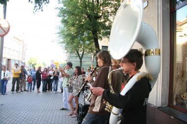 Klaipėda jungiasi prie Gatvės muzikos dienos