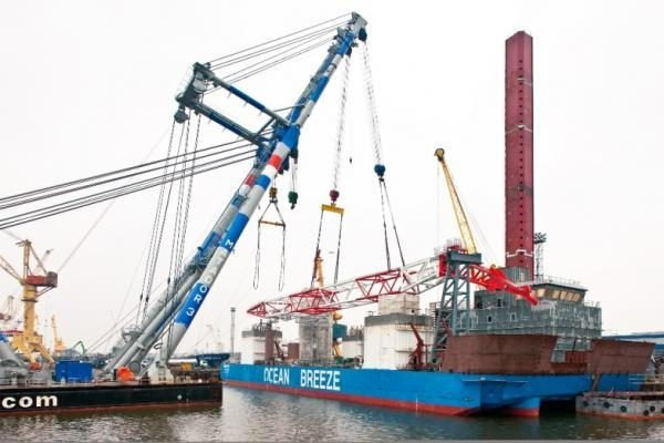 Klaipėdoje - unikalūs laivo statymo darbai