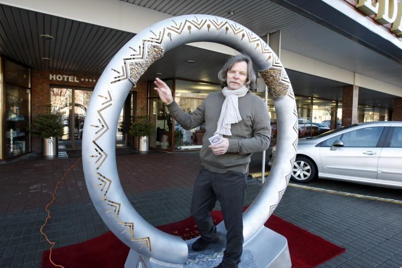 """Klaipėdiečio skulptūra papuoš pasaulinę """"Expo 2012"""" parodą"""