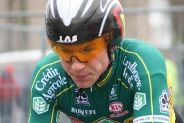 A.Kruopis lenktynėse Prancūzijoje pakilo į antrąją poziciją