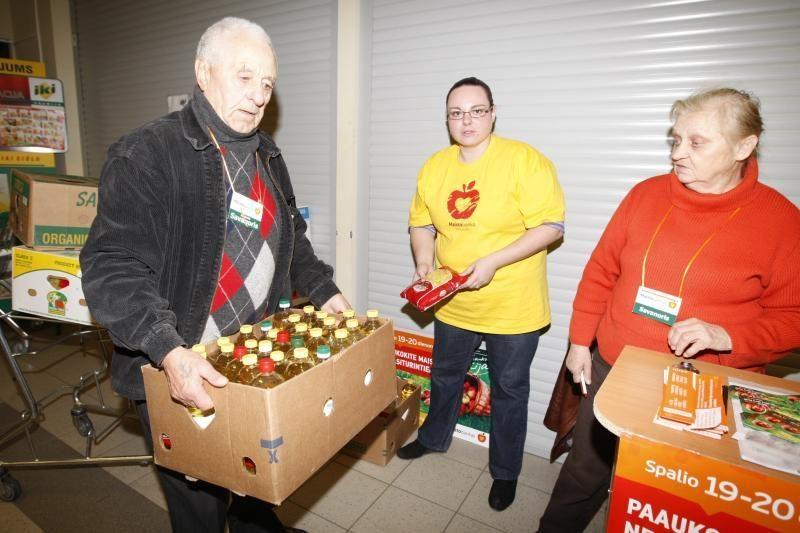 Klaipėdiečiai aktyviai dalyvauja gerumo akcijoje