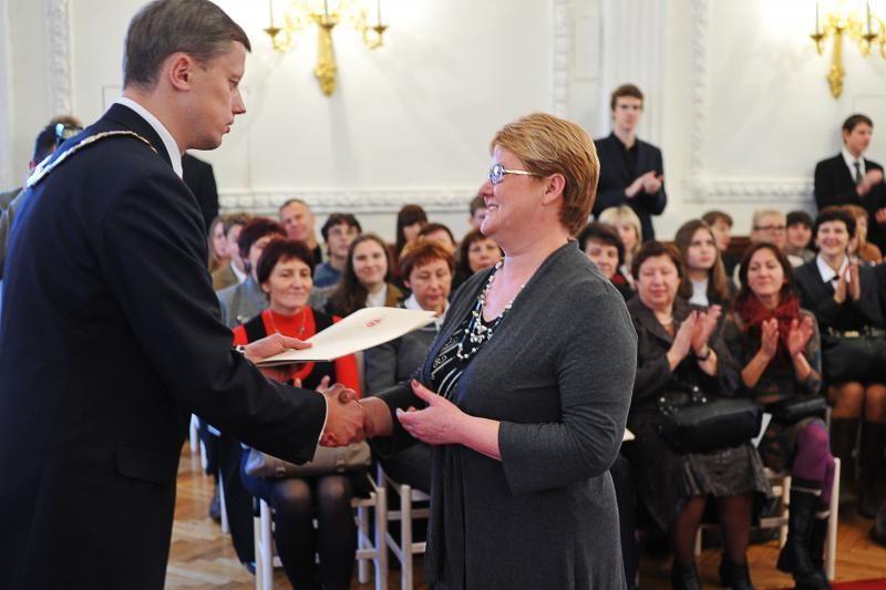 Rotušėje apdovanoti Kauną garsinantys moksleiviai