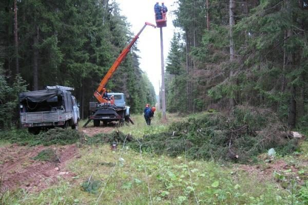 RST dėl audros patyrė per 1 mln. litų nuostolių