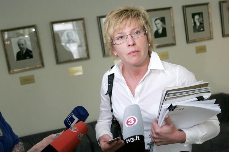 I.Šimonytė norėtų išvengti staigių mokesčių reformų
