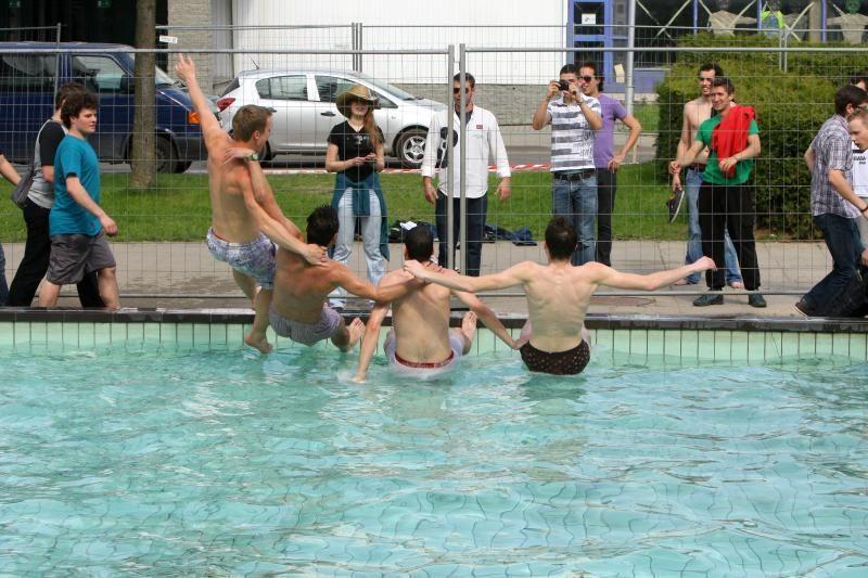 KTU Studentų miestelyje – jaunimo šėlionės