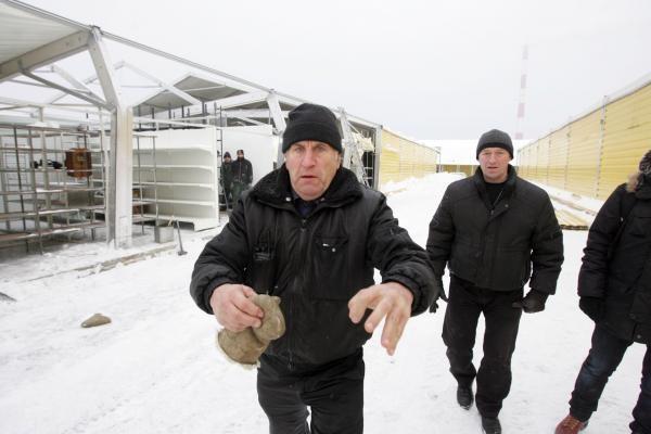 Gariūnų apsaugininkai užpuolė žurnalistus