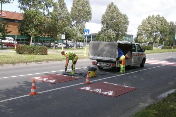 Klaipėdos gatvėse įrengti daugiau kalnelių neleista