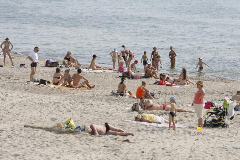 Nemirsetos paplūdimyje mirė vyras