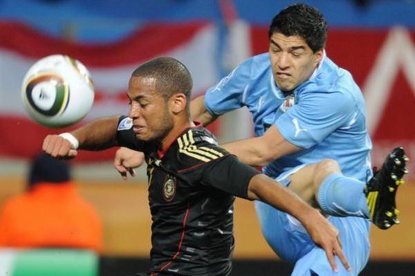 Dvikova dėl bronzos: Urugvajus – Vokietija 2:3