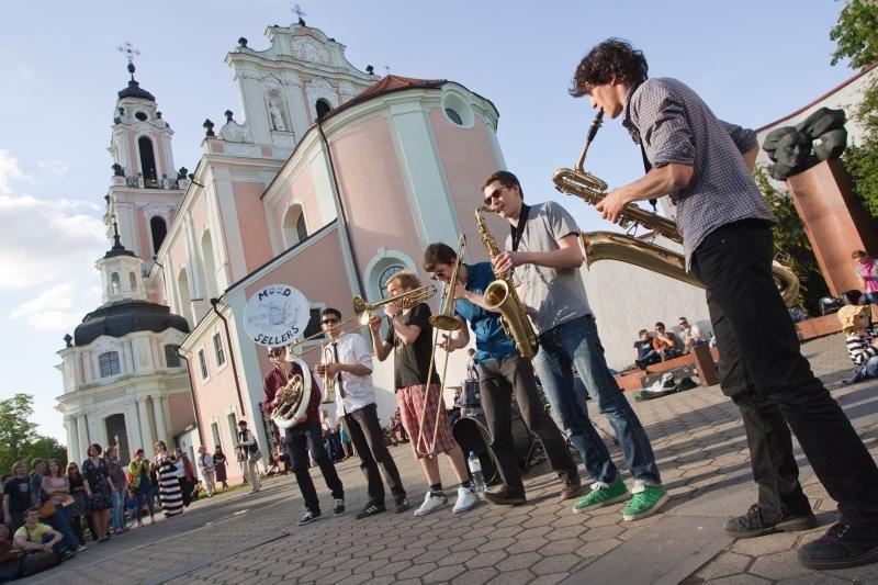 Gatvės muzikos diena: nuo dūdelių iki flamenko