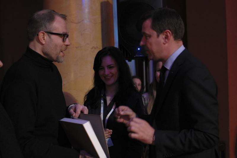 """Miesto meras į Rotušę sukvietė """"Kino pavasario"""" svečius"""