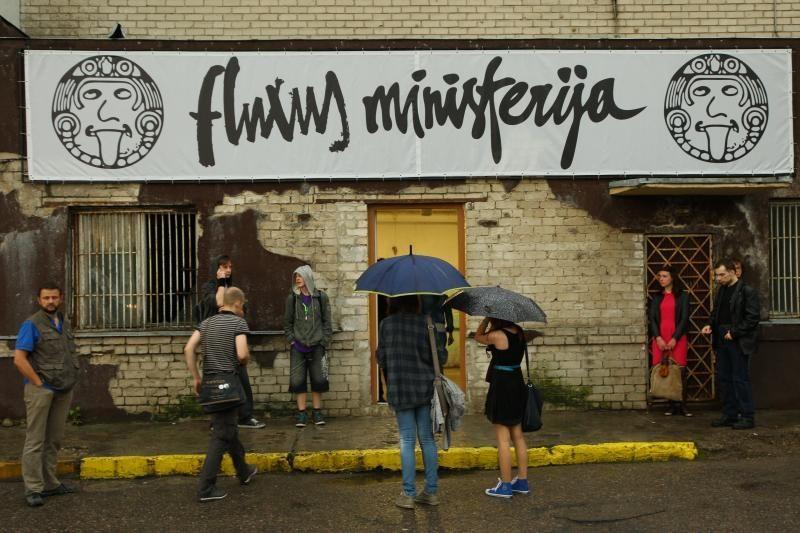 """Kaune  duris atvėrė """"Fluxus ministerija"""""""