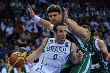 Solidžią persvarą iššvaisčiusi Slovėnijos rinktinė nugalėjo brazilus