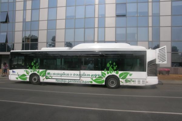 R.Adomavičius: sąvartynų biodujos galbūt leistų atpiginti viešojo transporto bilietus