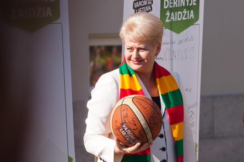 D.Grybauskaitė vyks į Londono olimpiadą