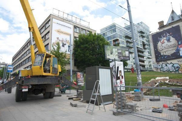 Vilniaus stotelėse pradeda veikti automatiniai tualetai
