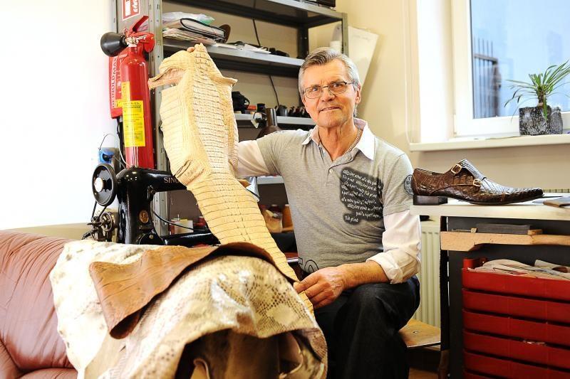 Batų meistras apavė ir Barborą Radvilaitę, ir Arvydą Sabonį