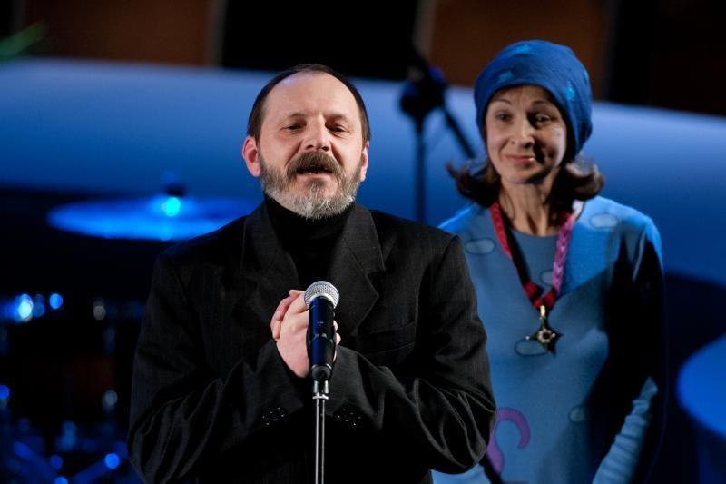 Teatro menininkams įteikti Auksiniai scenos kryžiai