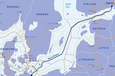 """Pristatoma """"Nord Stream"""" poveikio aplinkai vertinimo ataskaita"""