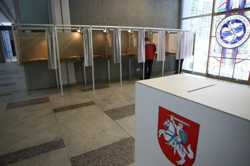 Seimo rinkimuose galės balsuoti per 2,5 mln. Lietuvos piliečių