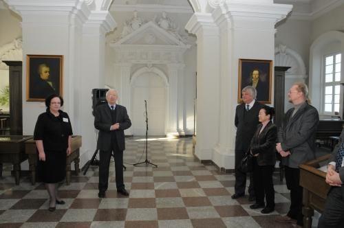 Vilniaus universitete atidaryta Orientalistikos skaitykla