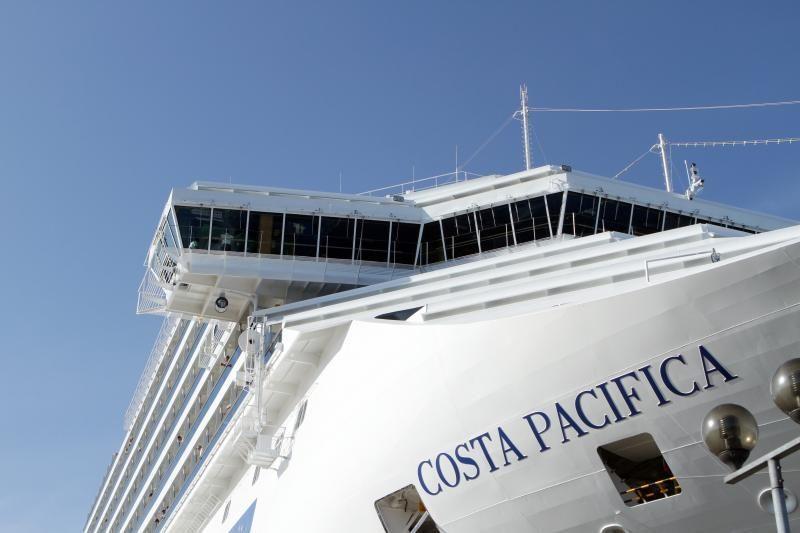 Klaipėdoje - milžiniškas kruizinis laivas