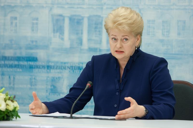 D.Grybauskaitė ragina Seimą atsakingai elgtis su šalies pinigais