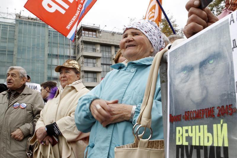 Putinas paskelbė rinkimų programą 20-čiai metų
