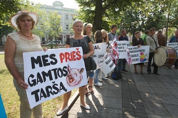 Žalieji: valdžia Lietuvą pavers sąvartynu (papildyta)