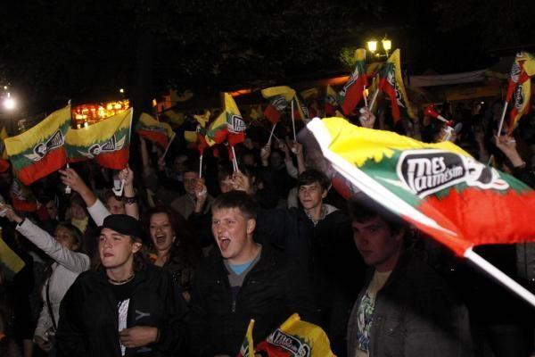 Rugsėjo 1-oji Kaune: neblaivi, bet gana rami (papildyta)