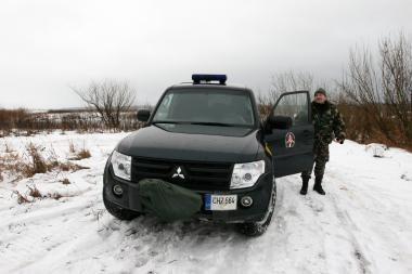 Pažeidėjai į Lietuvą bandė patekti Nemuno ledu