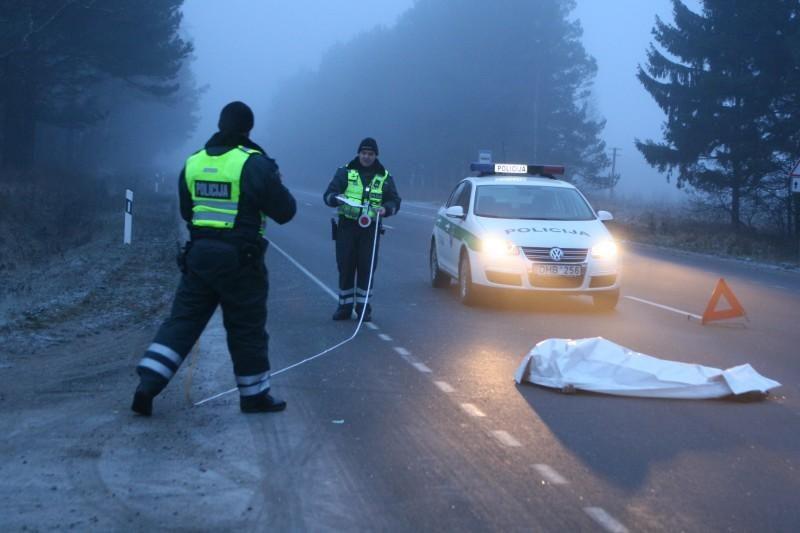 Mirtinai partrenktos pėsčiosios sugyventinis išvežtas į policiją