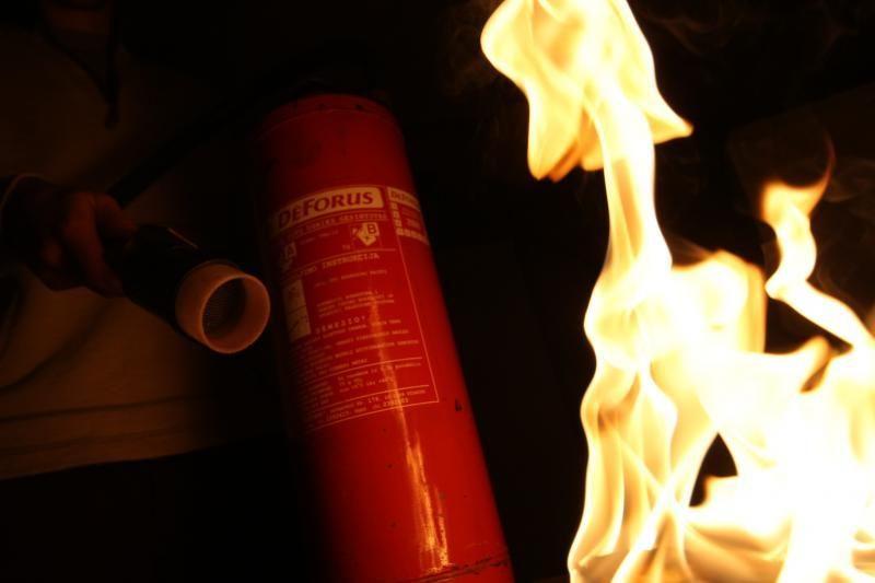 Karteniškius išgąsdino naktį degęs benzovežis
