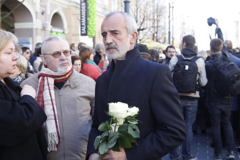 V. Šapranauskas palydėtas į paskutinę kelionę