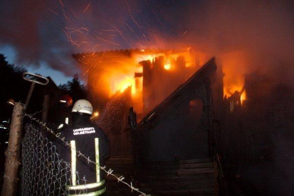 Klaipėdos rajone gaisro metu žuvo žmogus