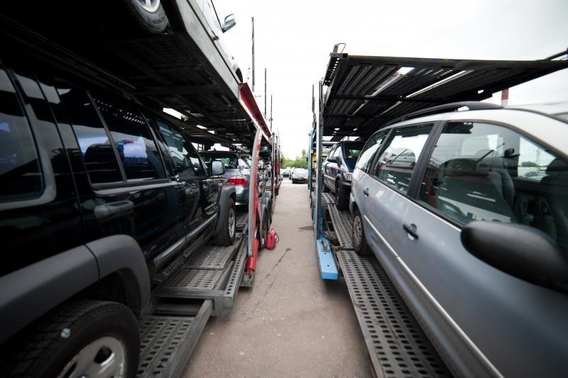 Metalo supirkėjams bandė prakišti svetimą automobilį