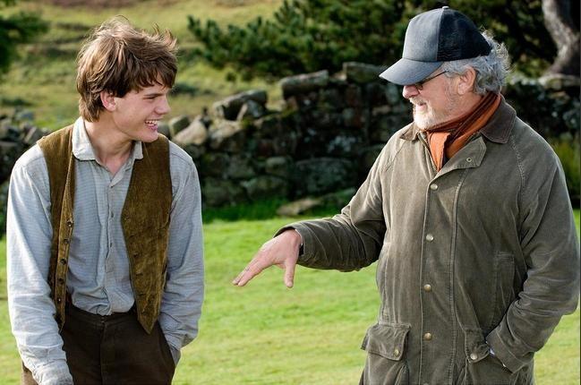 S. Spielbergas: žirgų improvizacijos pagyvino filmą