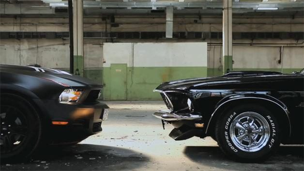"""""""Mustangų"""" šou: ir muzika, ir seksas - iš automobilių garsų"""