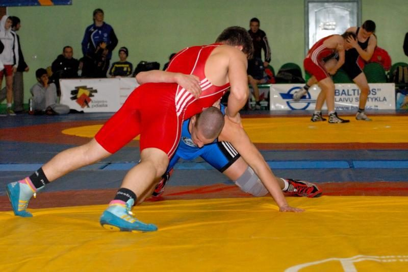 Klaipėdoje varžėsi imtynininkai iš 13 šalių