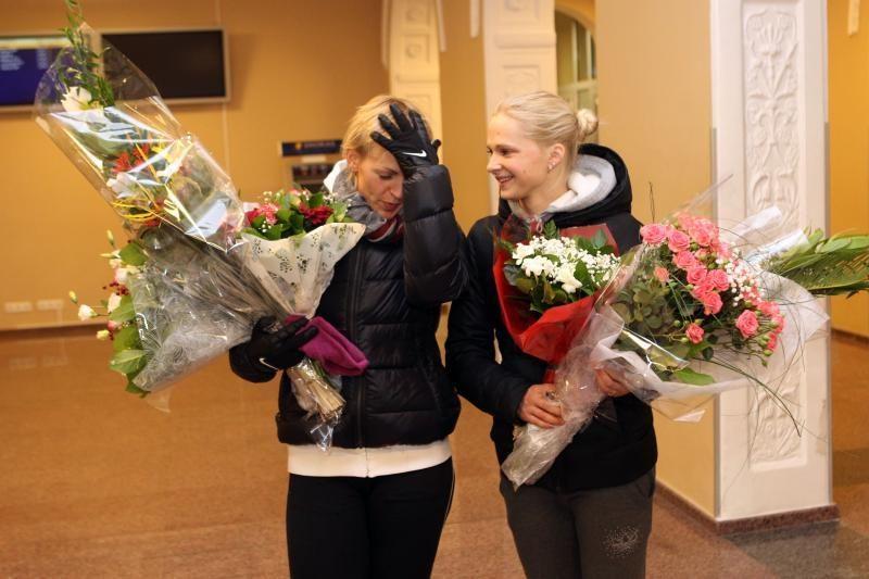 Tris sidabro medalius parvežusi S.Krupeckaitė: dar turime, ką tobulint