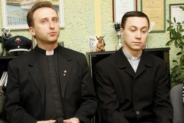 Klaipėdiečiai kunigai tapo policijos rėmėjais