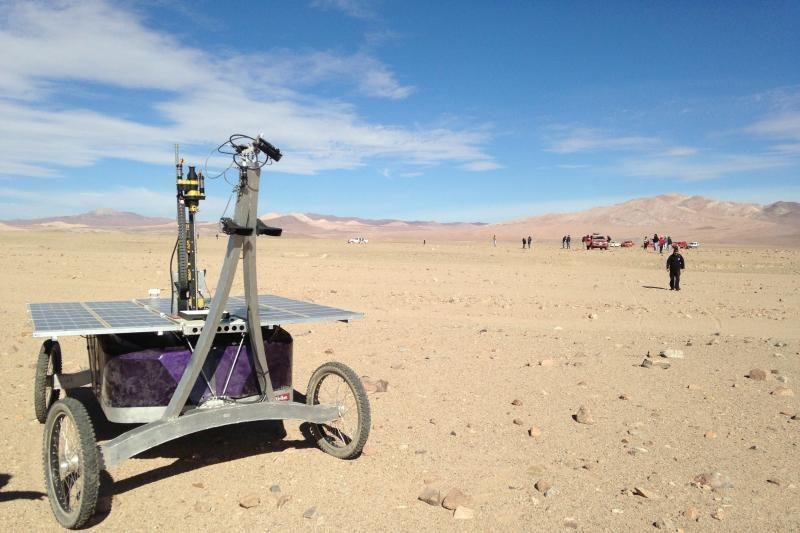 Čilėje atliekami naujo NASA marsaeigio prototipo bandymai