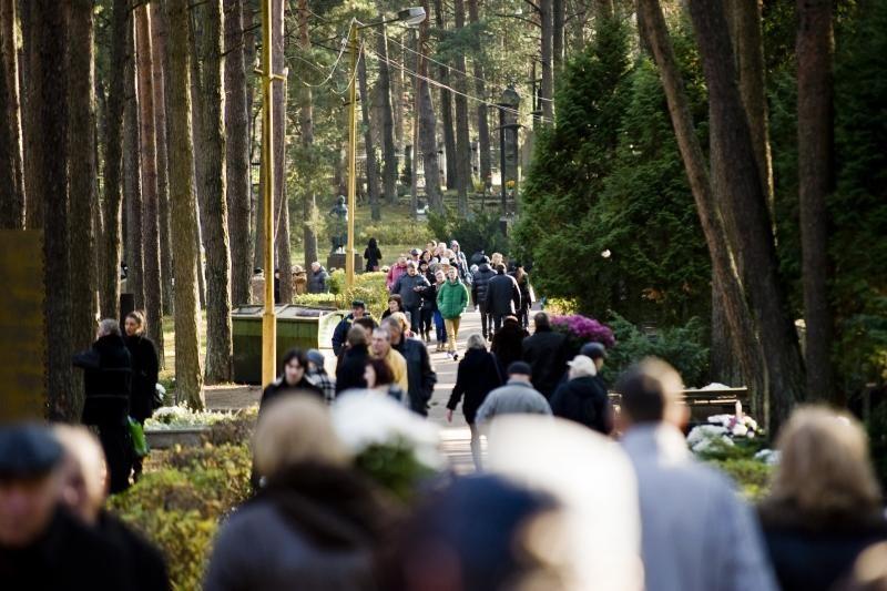 Kapinėse žmonės bendravo su gyvaisiais ir mirusiaisiais
