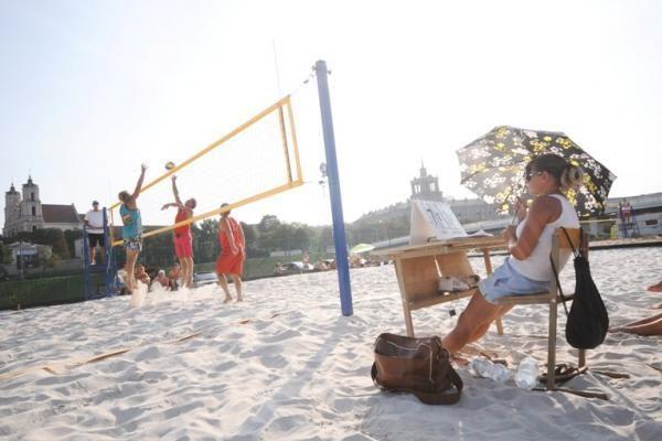 Sostinės paplūdimius šturmuoja vilniečiai