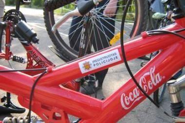 165 klaipėdiečiai užregistravo dviračius policijoje