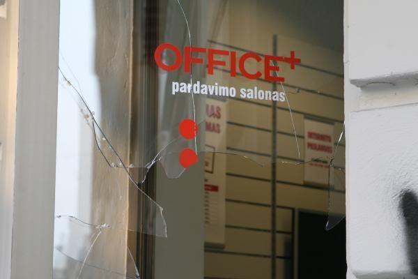 Vilniaus senamiestyje - žaibiškai apvogta parduotuvė (papildyta)