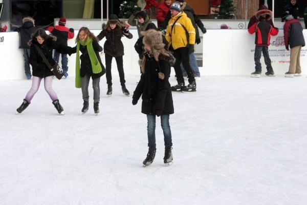Nemokamos čiuožyklos Vilniuje gali atsirasti dar šiemet
