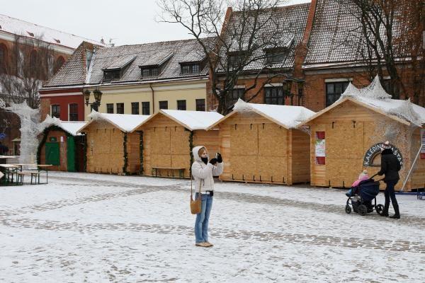 Šaltis Kauną spaudžia, bet dar nelaužo